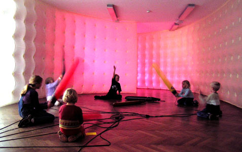 klangwuerste - Workshop and Installation, Konzerthaus, Vienna 2004