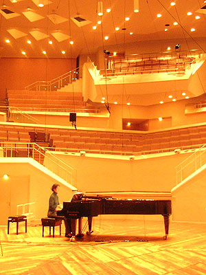 Mount Blanc, for piano and sound projection, 2002